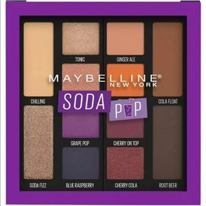 Maybelline Soda Pop Eyeshadow Palette Makeup, 110